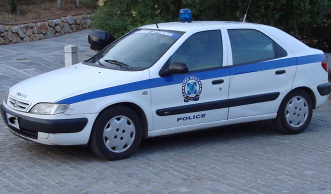 GREEKPOLICE CAR
