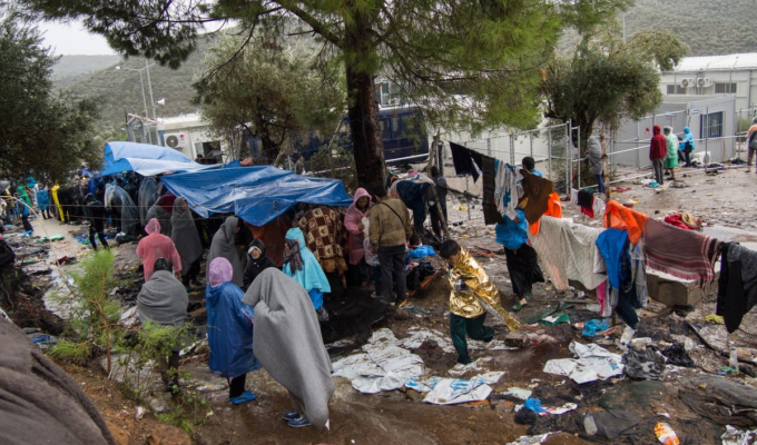 MIGRANT CAMP GREECE