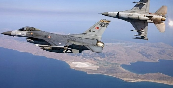 Turkish F-16s