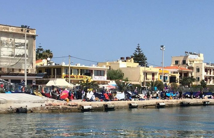 Northern Aegean islands to strike in protest over refugee crisis 4