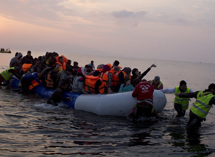 More than 100 illegal migrants reach Lesvos island on New Year's Day 2