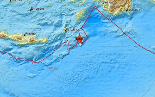 karpathos earthquake