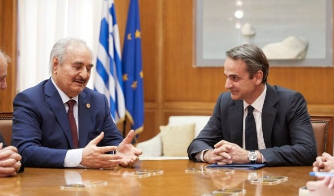Greek Foreign Minister and PM talks to General Haftar 3