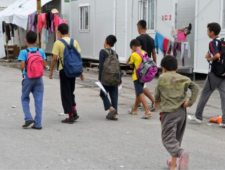 unaccompanied refugee children