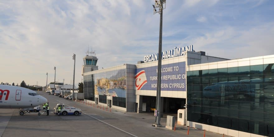 Turkish occupied airport of Tymbou
