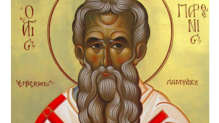 Feast Day of Agios Parthenios, Patron Saint of Cancer Patients 2