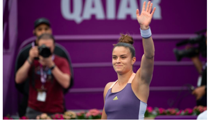 Greece's Maria Sakkari breaks into Top 20 WTA Rankings 11