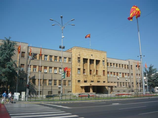 NORTH MACEDONIA PARLIAMENT