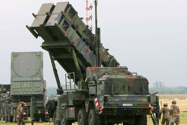 The Patriot Missile Battery in Skyros