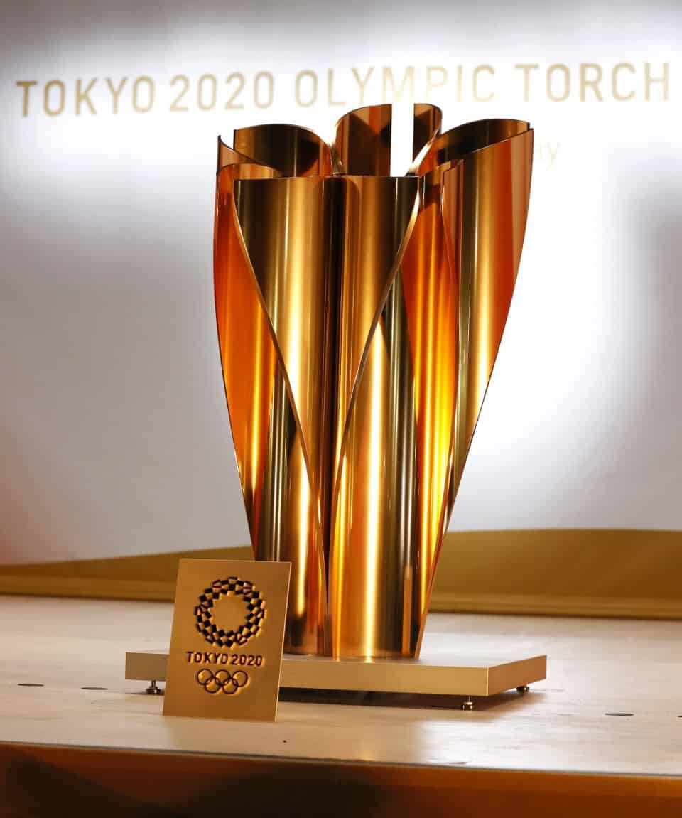 Tokyo Olympic Torch 2020