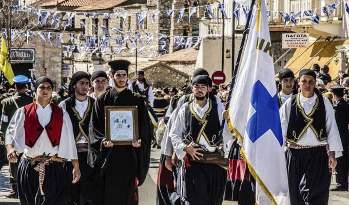 On this day in 1821, Greek War of Independence starts in Mani 1