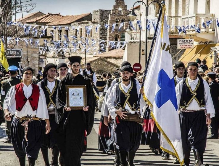 On this day in 1821, Greek War of Independence starts in Mani 9