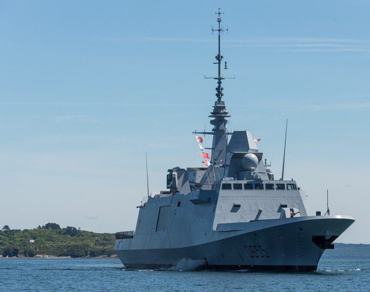 French frigate province