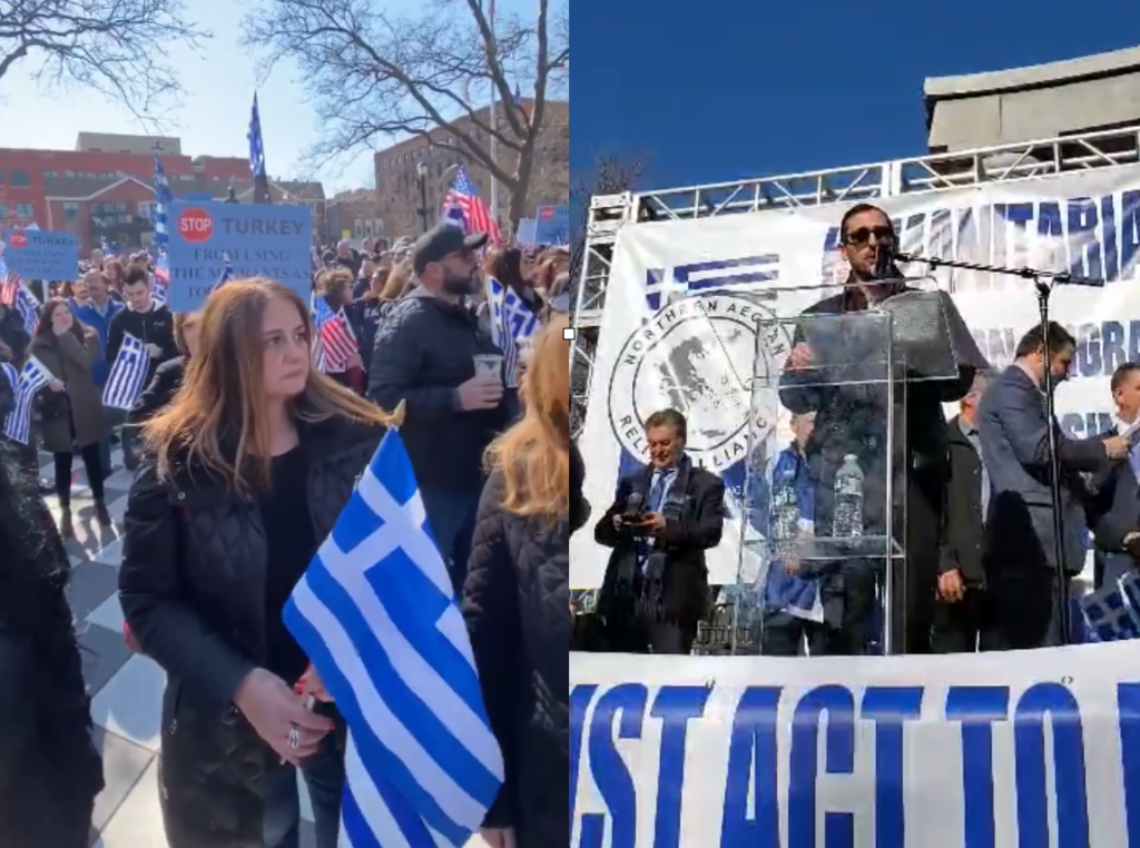 Greek Americans support Greece in protecting borders