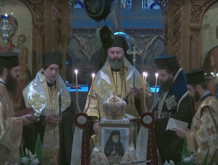 Memorial Service of the late Archbishop Stylianos of Blessed Memory