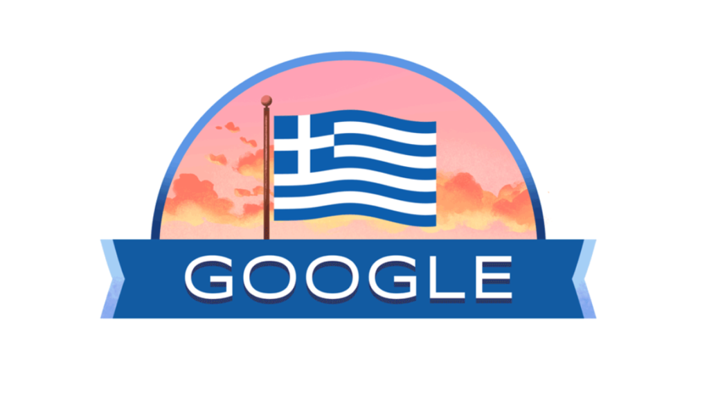 Google Doodle celebrates Greek Independence Day