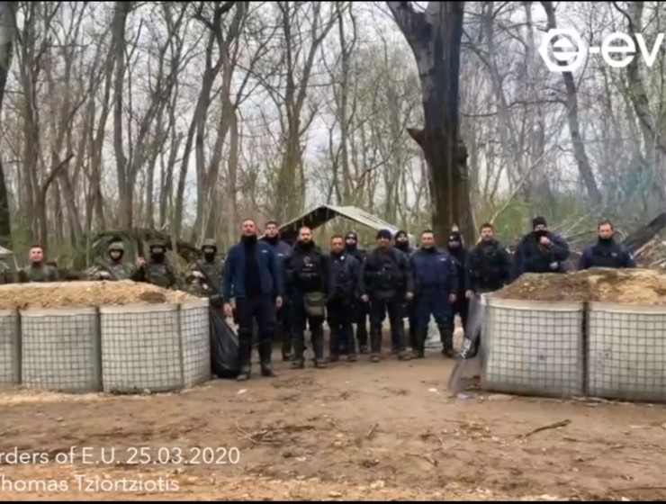 Greek Evros border (VIDEO)