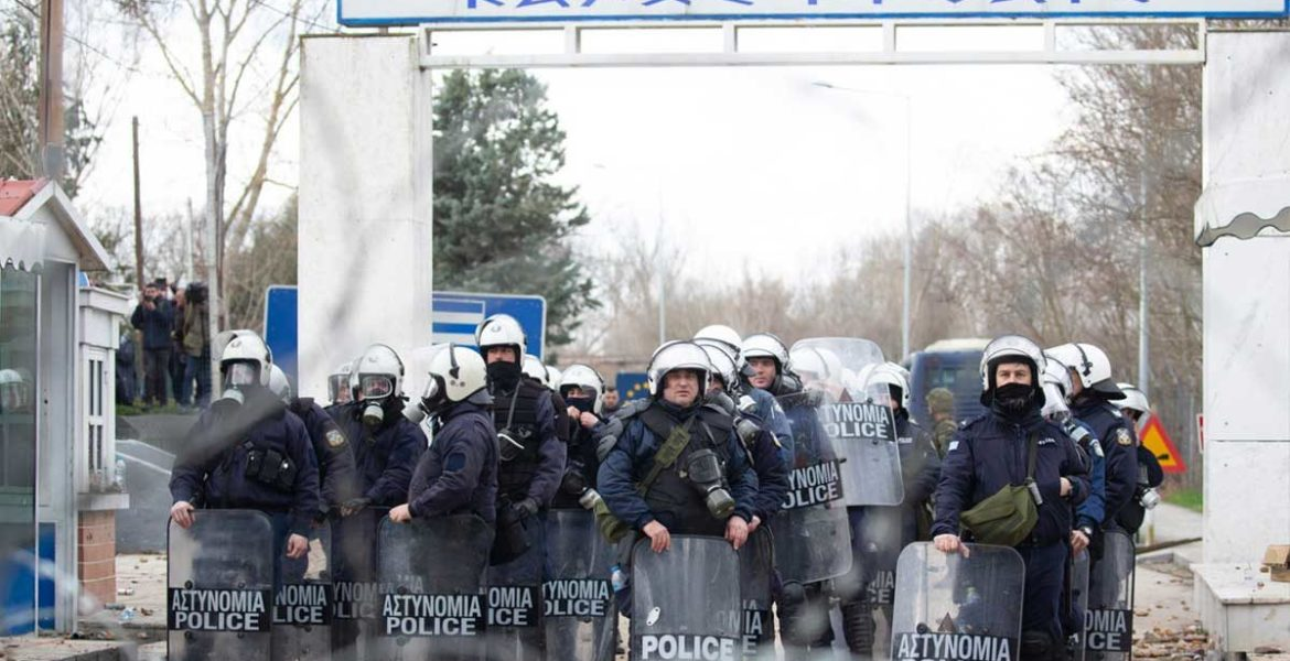 police at Evros