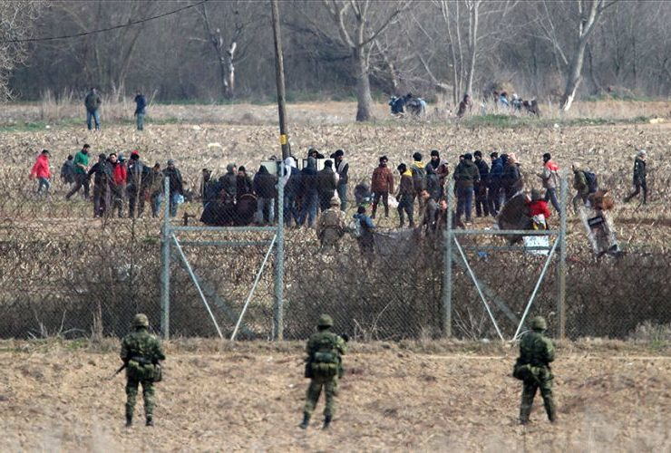 illegal migrants greece