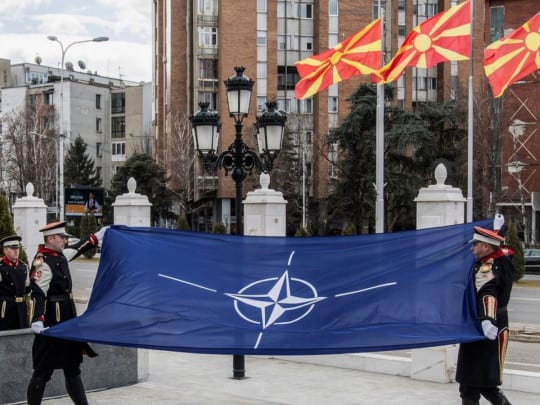 North Macedonia on joining NATO