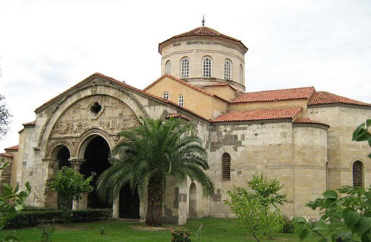 Historic Greek church in Turkey is further damaged during Islamification process 2