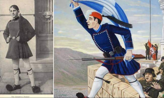On this day in 1941, Koukidis sacrificed himself to prevent Nazis from dishonouring the Greek flag 3
