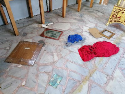 Illegal immigrants vandalise another church on Lesvos just days out from Easter 7