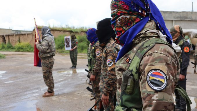 Armenian militia fighting Turkish invaders in Syria celebrates first anniversary 11