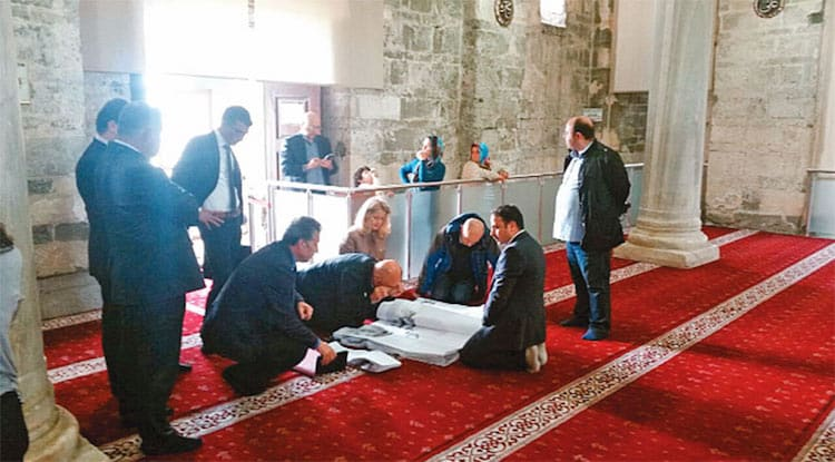 Historic Greek church in Turkey is further damaged during Islamification process 8