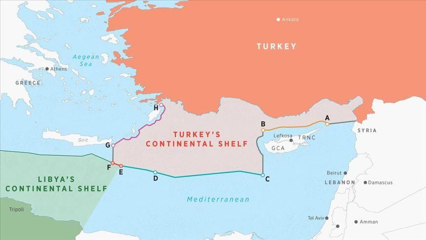 What are the plans to deter Turkey from illegally drilling in Greece's maritime space? 4