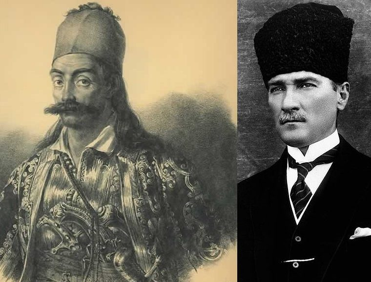 Today Greece celebrates a national hero hero while Turkey celebrates the genocider of Greeks 27
