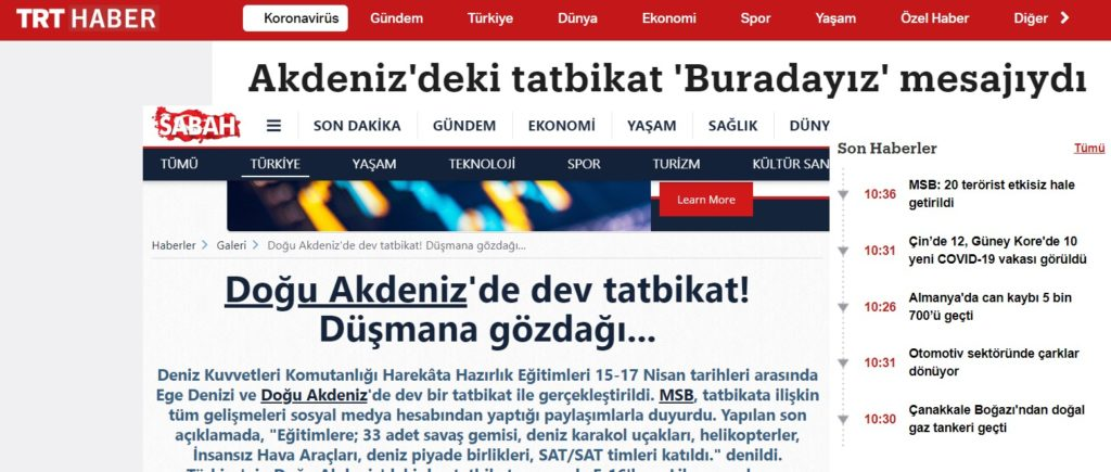 """Turkish media thinks Greece """"fears"""" Turkey's recent naval exercises, forgets Greece's undefeated navy 5"""