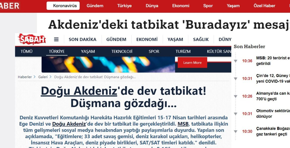 """Turkish media thinks Greece """"fears"""" Turkey's recent naval exercises, forgets Greece's undefeated navy 1"""