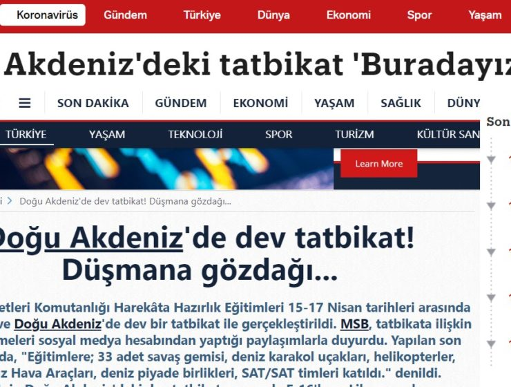 "Turkish media thinks Greece ""fears"" Turkey's recent naval exercises, forgets Greece's undefeated navy 16"