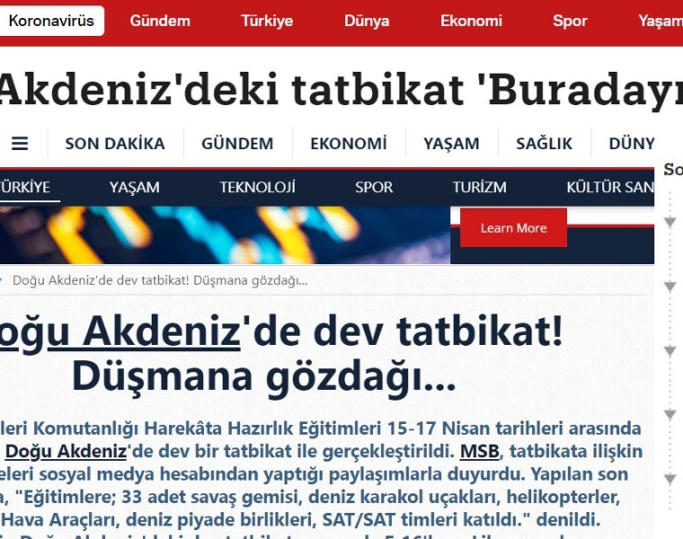 "Turkish media thinks Greece ""fears"" Turkey's recent naval exercises, forgets Greece's undefeated navy 24"
