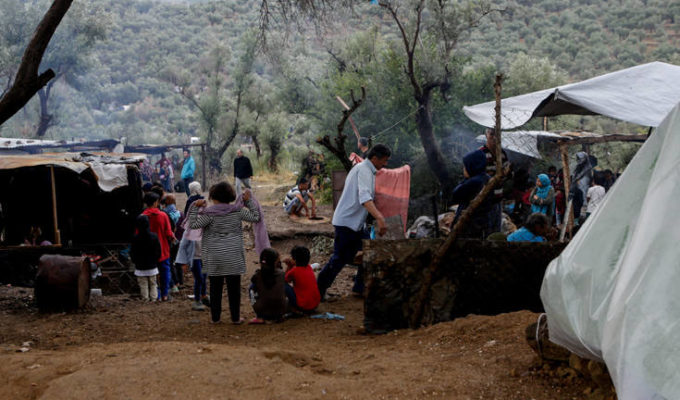 Greek migrant camps