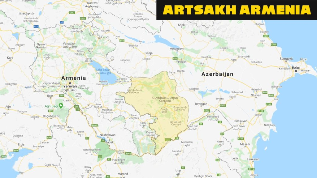 iLiveMap shows Artsakh as part of Armenia and Donbass as Russia 2