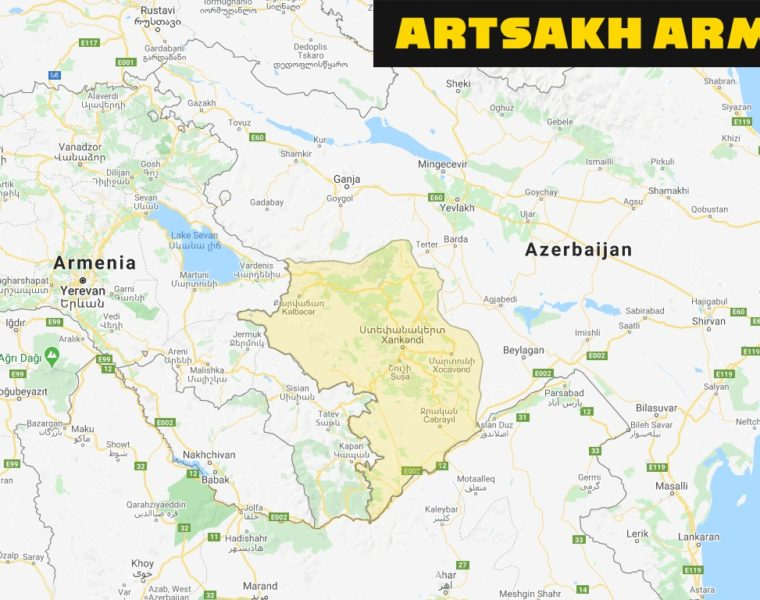 iLiveMap shows Artsakh as part of Armenia and Donbass as Russia 9