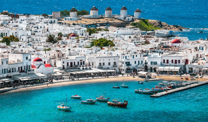 Mykonos' first coronavirus case confirmed 1