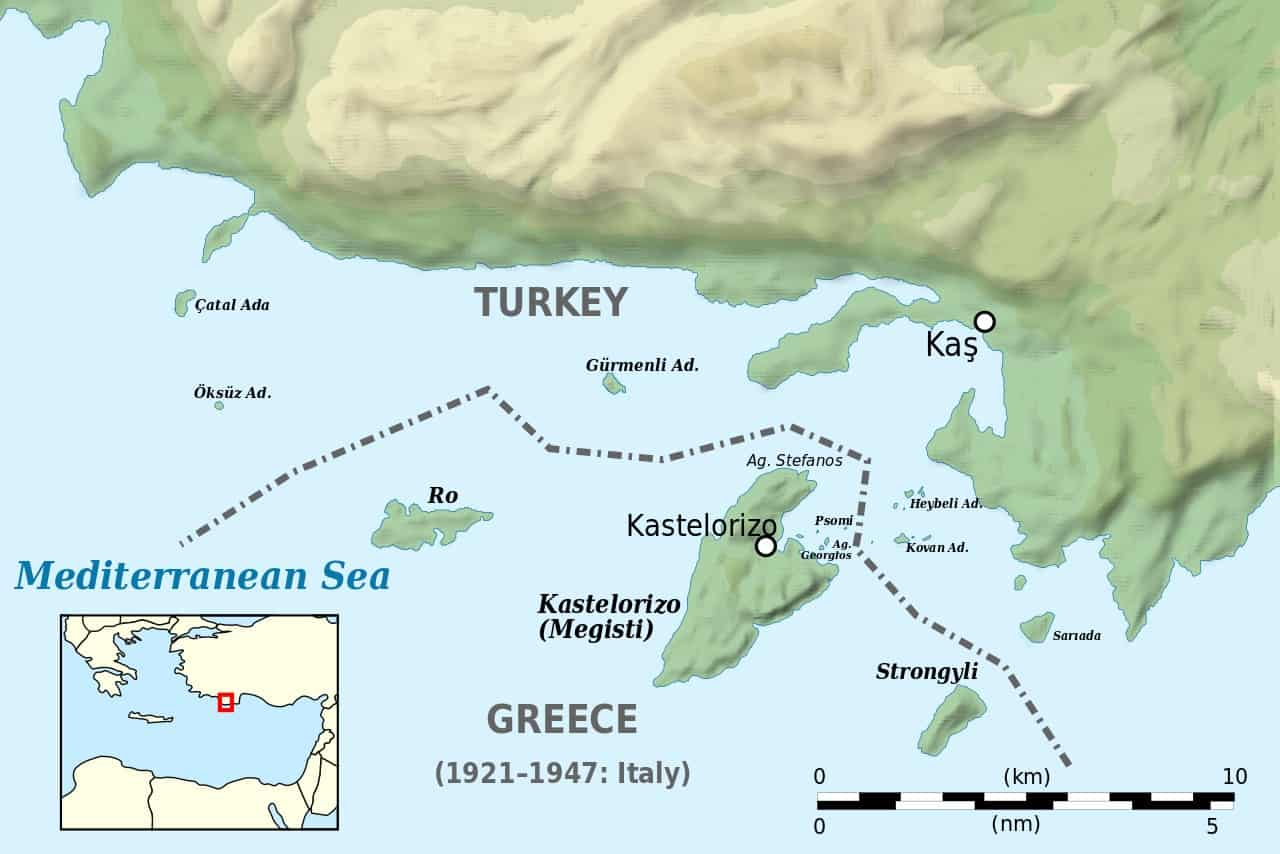 Al-Jazeera shows Greek island belonging to Turkey in new propaganda article 7