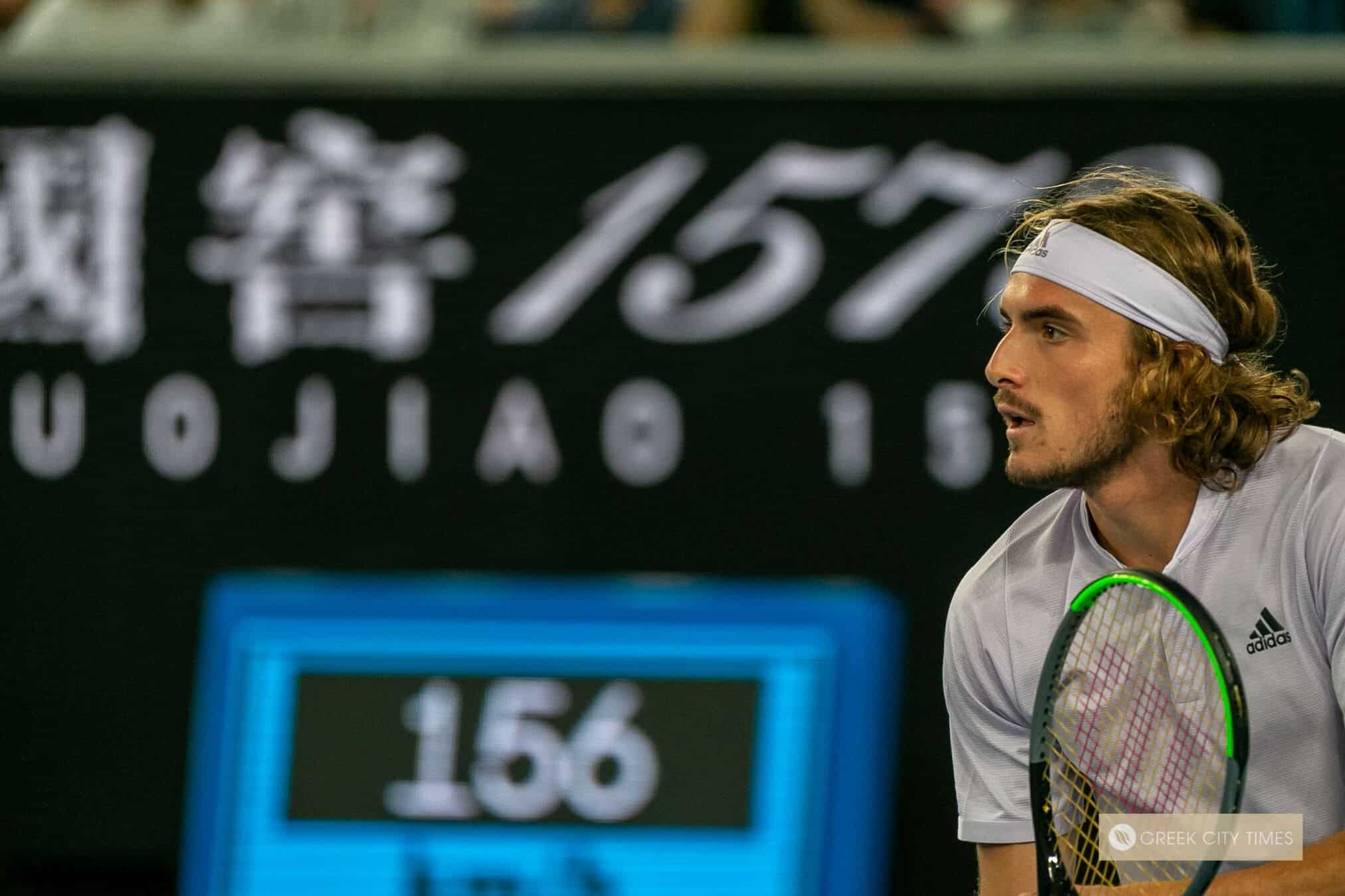Stefanos Tsitsipas To Compete In Virtual Madrid Open Greek City Times