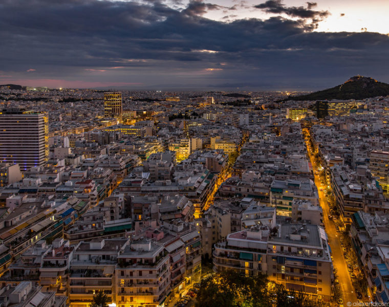Alexandros Maragos, the filmmaker behind the 'City of Athens'