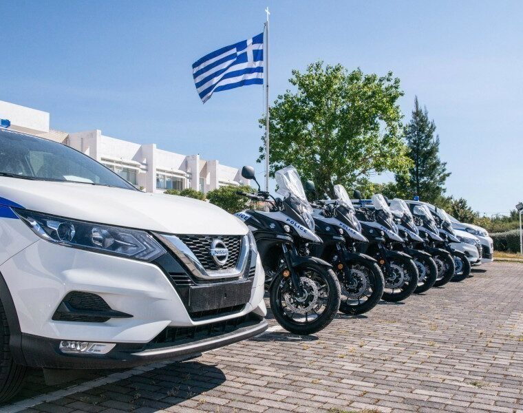 See the new vehicles of the Hellenic Police 1