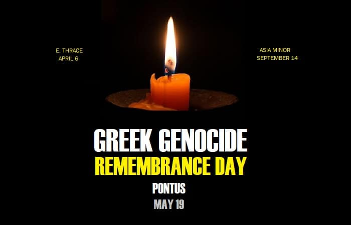 Today we pause to reflect on the victims of the Greek Genocide from the Pontus region 8