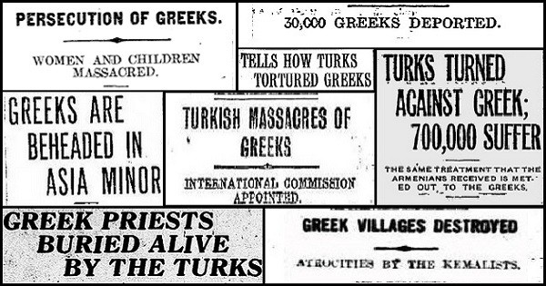 "Turkish Foreign Ministry says Greek Genocide is ""baseless and delirious"" 4"