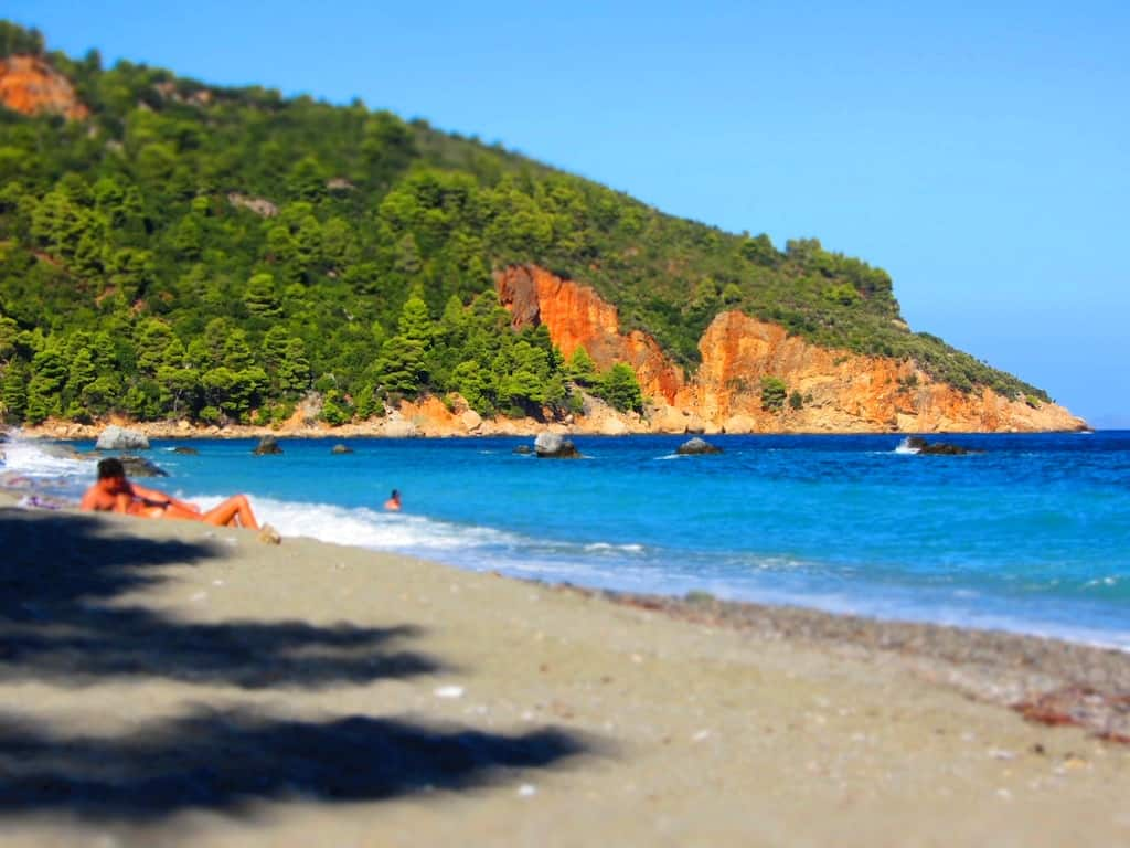 What are the top 5 nudist beaches in Greece? 12