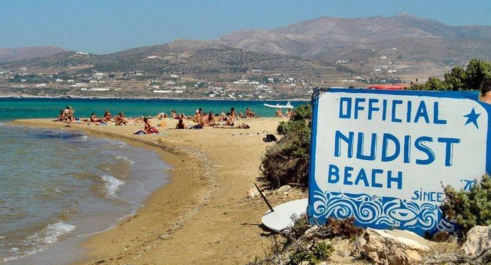 What are the top 5 nudist beaches in Greece? 1