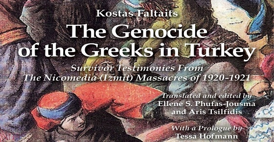 "Book Review: ""The Genocide of the Greeks in Turkey"" is a MUST READ book 1"