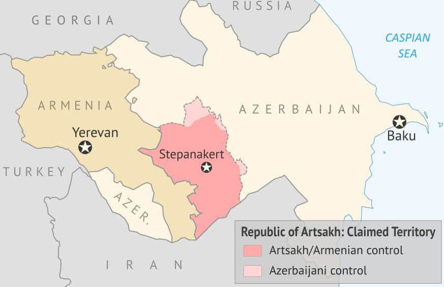 Reports Turkey is transferring Syrian militants to Azerbaijan as hostilities against Armenia increases 3