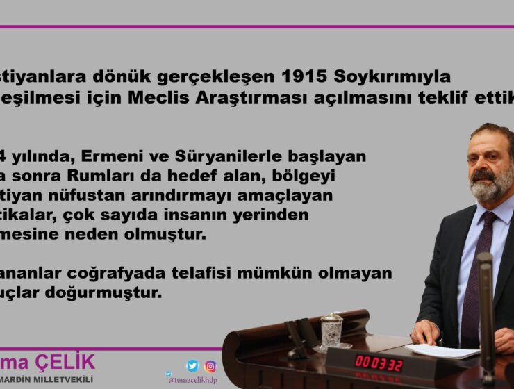 MP of Turkish Parliament demands investigation into the Greek Genocide 7